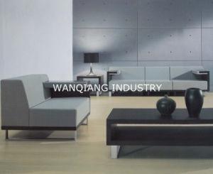Elegant Minimalist Style Deluxe Office Gray Sofa (EG22)