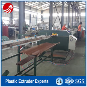 PVC Wood Plastic WPC Window Profile Extruder Production Extrusion Machine pictures & photos
