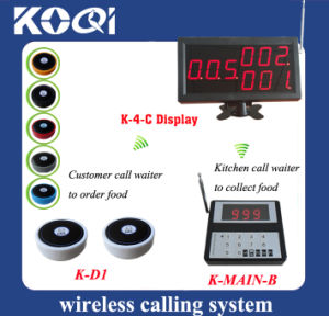 CE Approved 433.92MHz Wireless Paging and Queuing System for Restaurant pictures & photos