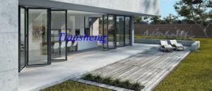Aluminium Folding Door, Double Glass Folding Door, Double Glass Folding Door pictures & photos