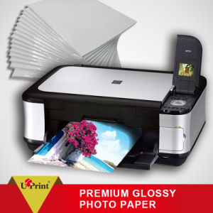 Smooth, Water-Proof Dry Fast Single Side Photo Paper pictures & photos