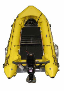Aqualand 17feet 5.3m Hypalon Rubber Boat/Semi-Rigid Inflatable Rescue Boat /Motor Boat (aql-530) pictures & photos