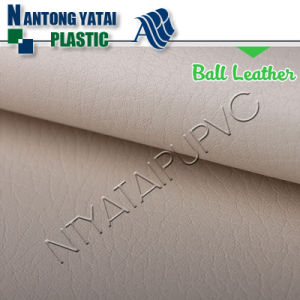 High Quality Cheap Synthetic Leather for Ball pictures & photos