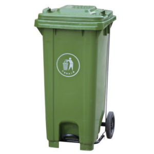 Hot Sale Pedal 120L Garbage Can/ Garbage Bin pictures & photos
