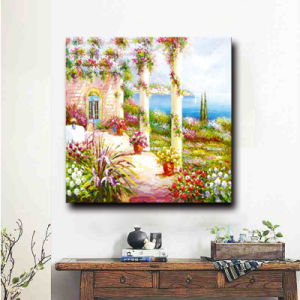 Natural Scenery Wall Picture Home Decor Great Artwork Garden Scenery Oil Painting pictures & photos