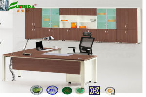 MFC Modern High End Office Furniture with Metal Foot pictures & photos