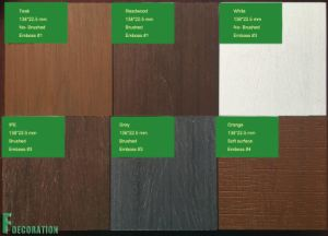WPC Plastic Wood Eco Composite Decking Flooring