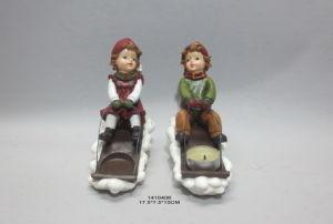 Polyresin Christmas Snowman Snow Baby Gitf Home Decoration pictures & photos