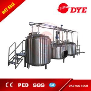 Brewing Equipments/3bbl Mash Tun/3bbl Brew Kettle/3bbl Hot Liquor Tank pictures & photos