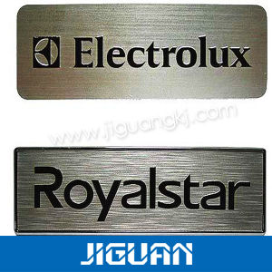 Custom Die Cut Logo Self Adhesive Metal Label Sticker pictures & photos