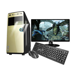 Low Price and Best Quality Computer PC DJ-C002 with 17 Inch Monitor pictures & photos