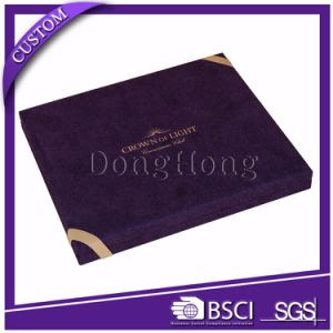 Custom Printed Simple Design Rigid Paper Invitation Card Box pictures & photos