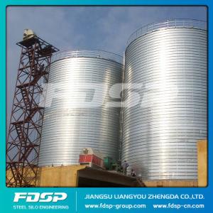 Professional Design Olive Bean Silo Grain Storage Steel Silo Flat Bottom Silo pictures & photos