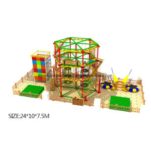 Professional Children Indoor Playground Equipment Obstacle Course Bouncer pictures & photos