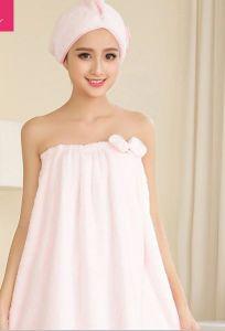 Microfiber / Coral Fleece Bath Skirt / Pajama / Nightwear pictures & photos