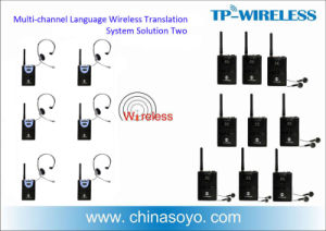 Wireless Simultaneous Interpretation for Meeting pictures & photos