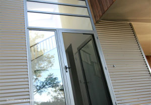 High Value French Style 88 Series Aluminium Exterior Balcony Doors pictures & photos