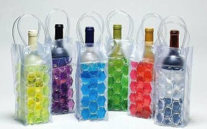 OEM PVC Beer Wine Handle Insulated Ice Cooler Bag pictures & photos