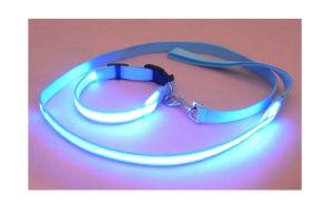 Nylon Flashing LED Dog Leash with Night Light pictures & photos