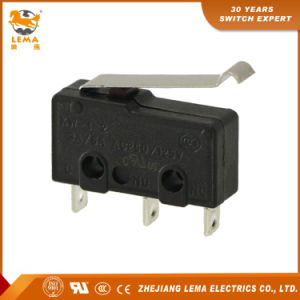 Lema Kw12-5 UL Approved Bent Lever Miniature Micro Switch pictures & photos