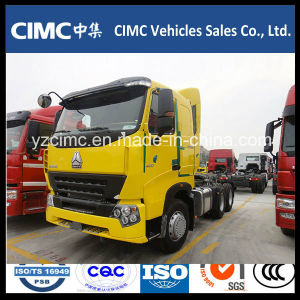 Sinotruk HOWO A7 4X2 371HP Prime Mover Tractor Head for Ghana pictures & photos