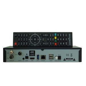New 4K Satellite Receiver Zgemma H7c with DVB-S2X+2*DVB-T2/C Three Tuners pictures & photos