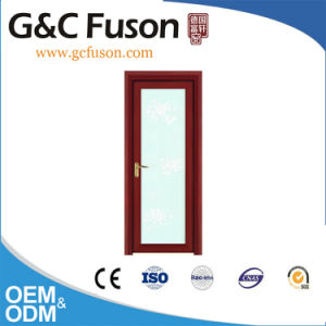 Top Quality Aluminum Frame Double Toughened Glass Casement Doors pictures & photos