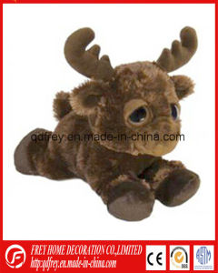 Kids Animal Toy of Stuffed Brown Deer for Christmas Gift pictures & photos