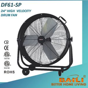 """20"""" High Velocity Drum Fan for Muggy Workshop, Warehouse pictures & photos"""