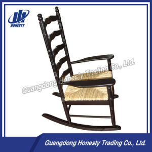 Cy112 Full Solid Wooden Rocking Chair pictures & photos