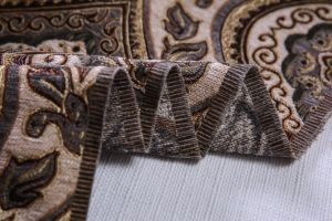 2017 The Latest Jacquard Fabric with Chenille Yarn Weaven pictures & photos