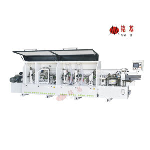Woodworking Auto Edge Banding Machine with Corner Trimming Function pictures & photos