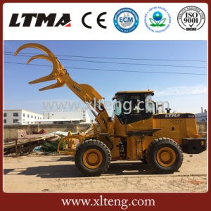 Small ATV Loader 4 Ton Log Loader with Competitive Price pictures & photos