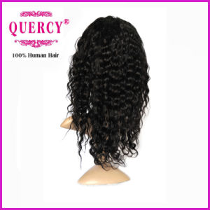 New Stock Brazilian Hair 100% Human Virgin Hair Full Lace Wig pictures & photos