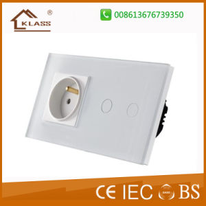 Remote Control Switch Touch Glass Panel Wall Light Switch pictures & photos