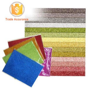 Colored A4 Size Self Adhesive Glitter Paper for Crafting pictures & photos