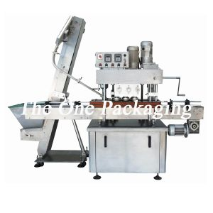 Automatic in-Line Bottle Capping Machine/Cheaper Bottle Capper pictures & photos