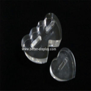 Custom Clear Plastic Ring Display Boxes pictures & photos
