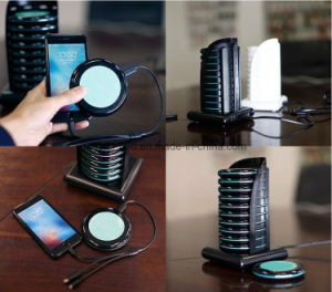 Hotels and Cafes 10 Units 5000mAh Restaurant Power Bank with Charging Station, External Backup Battery Emergency Mobile Phone Charger pictures & photos