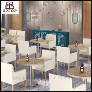 Hotel Restaurant Furniture Leather Dining Chair and Table Set (SP-HC620) pictures & photos