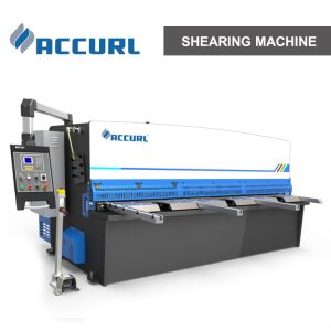 Automatic Shearing Machine 16X3200mm Hydraulic Swing Beam Shear pictures & photos
