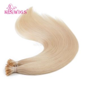 K. S Wigs I Tip Hair Color #24 Virgin Remy Human Hair Extension pictures & photos