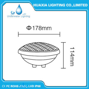 AC12 35W PAR56 LED Swimming Pool Light for Underwater Pool pictures & photos