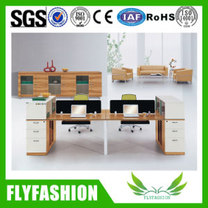 Fashion Workstation Melamine Board Office Desk for 2 Persons (OD-65) pictures & photos