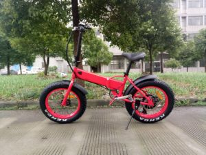 36V 10ah Lithium Battery Hidden in Frame Electric Folding Bike pictures & photos