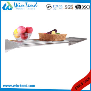 Stainless Steel Kitchen Wall Hanging Rack for Restaurant pictures & photos