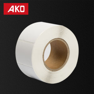 Supermarket Use Waterproofing Heat Sensitive Self Adhesive Sticker Blank Label Roll pictures & photos