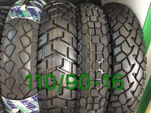 Factory Long Life Motorcycle Tyre Tire Yt-222 Tl110/90-16 pictures & photos