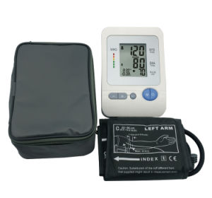 Digital Arm Type Blood Pressure Monitor for Medical Use pictures & photos