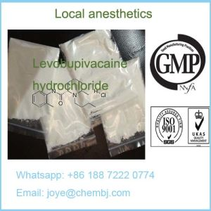 Local Anesthetic Pain Killer Levobupivacaine Hydrochloride/Levobupivacaine Hci pictures & photos